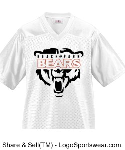 Youth Overtime Football Fan Jersey Design Zoom